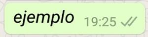 cursiva whatsapp