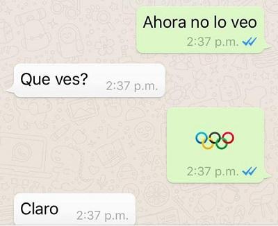 emoji juegos olimpicos wasap